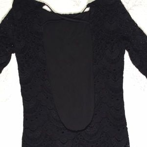 Nightcap Dresses - Anthropologie backless lace dress size 2